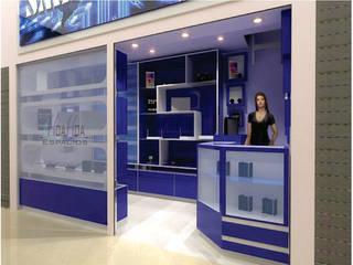 Arquitectura Comercial: Bodegas de estilo  por HoaHoa Espacios SAS, Moderno