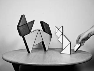 Puzzle Tangram par Louis Vairel Asiatique