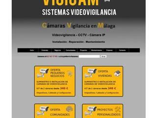 WEB Paredes y suelos de estilo industrial de VigiCam Industrial