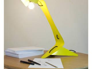 Lampe Anima (Jaune) par Louis Vairel Industriel