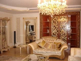 Золотые ключи 2 Гостиные в эклектичном стиле от Смарт проект Эклектичный