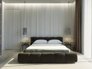 fatih beserek Modern style bedroom Wood-Plastic Composite White