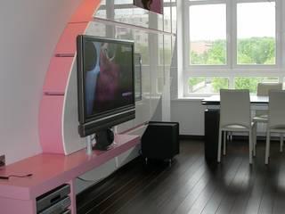 Квартира на ул. Тимошенко: Гостиная в . Автор – Смарт проект