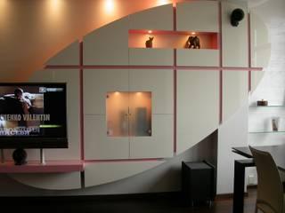 Квартира на ул. Тимошенко Гостиная в стиле минимализм от Смарт проект Минимализм