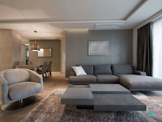 Living Room:  Living room by Interior Five