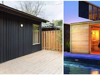 Saunas de estilo  de press profile homify