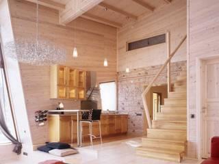 Частный дом в пос. Молоденово Кухня в стиле модерн от Смарт проект Модерн