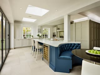 Tillingham | From Design To Reality Davonport Dapur built in Blue