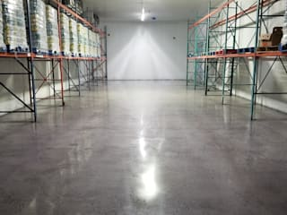 Polished Concrete - Hasbrouck Heights Commercial space by Shine Star Flooring Modern