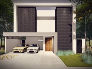 Residência EM: Casas  por Galan & Machado de Araujo Arquitetos Associados