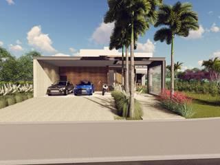 Residência RC: Casas  por Galan & Machado de Araujo Arquitetos Associados