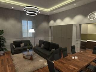recupero in stabile storico: Sala da pranzo in stile in stile Classico di virtual3dproject