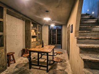 Alpasion | Interiores: Hoteles de estilo  por Bórmida & Yanzón arquitectos,Rústico