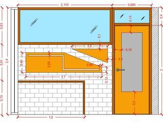 Diseño Mobiliario para oficina Oficinas de estilo moderno de Arq. Barbara Bolivar Moderno