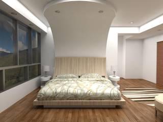 Diseño Mobiliario Habitacion Principal Cuartos de estilo moderno de Arq. Barbara Bolivar Moderno