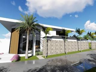 Residência CR: Casas  por Galan & Machado de Araujo Arquitetos Associados