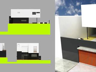 Casa MA de Micro Estudio Tekne Minimalista