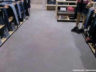 Bautech Sp. Z O.O. Modern commercial spaces Concrete Grey