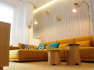 Casa Árbol Salones de estilo escandinavo de tiovivo creativo Escandinavo