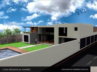 Residencia Ramírez :  de estilo  por ADCA CONSTRUCCIÓNES