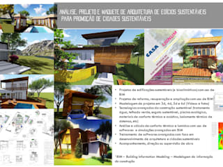 portfólio de arquitetura:   por FV STUDIO - ARQUITETURA E URBANISMO,Moderno
