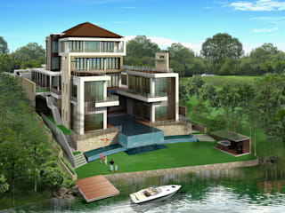 LAKE QUAY, MINES SOUTH LAKE: modern  by Arkitek Axis, Modern