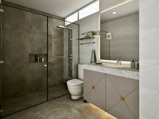 Baños modernos de Luis Escobar Interiorismo Moderno