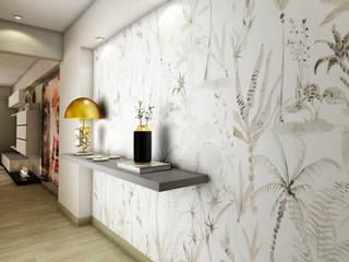 Luis Escobar Interiorismo Modern Corridor, Hallway and Staircase