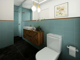 Modern bathroom by Luis Escobar Interiorismo Modern
