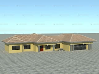 standard single storey by COMFORT MAYINGANI ARCHTECTZ