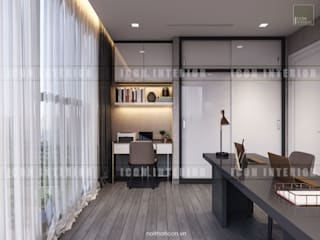 Modern study/office by ICON INTERIOR Modern