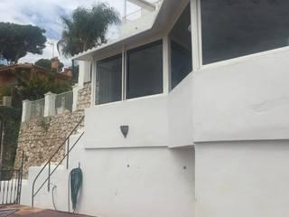 Palomar convertido en Refugio de Ideas Margarita Jiménez moreno Casas unifamilares Blanco