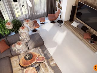 Artichok Design Living room Brown