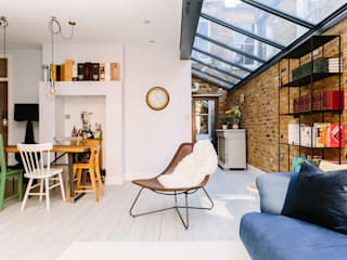 A Lovely Victorian Maisonette Modern Living Room by Resi Architects in London Modern