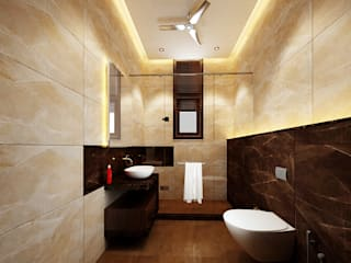 KHOWAL ARCHITECTS + PLANNERS Modern Bathroom
