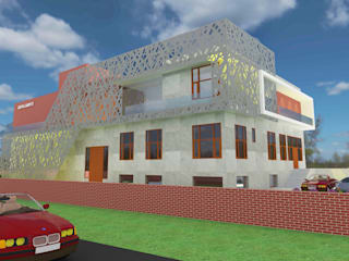 Gupta Carpet Industries Modern houses by KHOWAL ARCHITECTS + PLANNERS Modern
