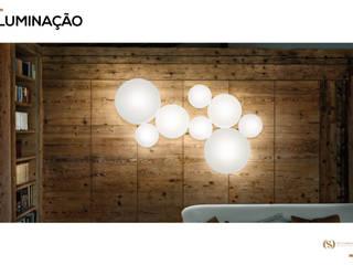 Iluminação: Escritórios e Espaços de trabalho  por MY STUDIO HOME - Design de Interiores