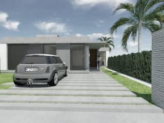 ★CASA LG - GORINA LA PLATA★: Casas de estilo moderno por SBG Estudio