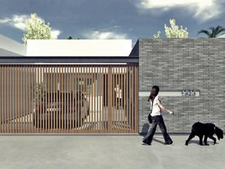 Nueva fachada: Casas unifamiliares de estilo  por SBG Estudio