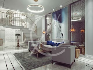 Living room by Comelite Architecture, Structure and Interior Design ,