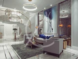 Contemporary Classic Villa Interior Design by Comelite Architecture, Structure and Interior Design Classic