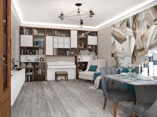 Living room by Вира-АртСтрой,