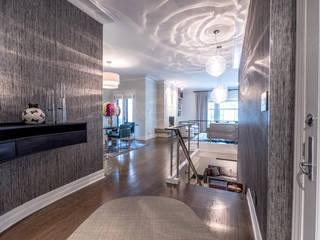 Magnifique duplexe Couloir, entrée, escaliers modernes par Christophe Sarlandie Moderne