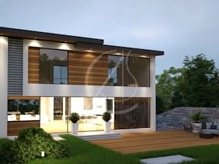 Milner Modern Residence Design:  Villas by Comelite Architecture, Structure and Interior Design