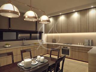 Modern Arabic House Design Modern style kitchen by Comelite Architecture, Structure and Interior Design Modern