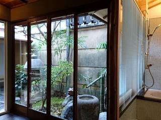 八坂の数奇屋(無限の息) 和風の お風呂 の 一級建築士事務所 (有)BOFアーキテクツ 和風