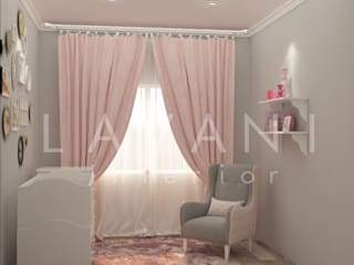 Shabby Chic Nursery Room:   by Lavani Interior