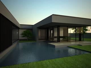Água na arquitetura: Habitações multifamiliares  por Atelier 72 - Arquitetura, Lda
