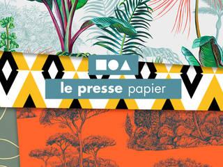 Chez Ressource par LE PRESSE PAPIER / PAPIER PEINT Moderne