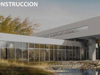 ARQUITECTURA CONSTRUCCION: Casas unifamiliares de estilo  por AR.CO